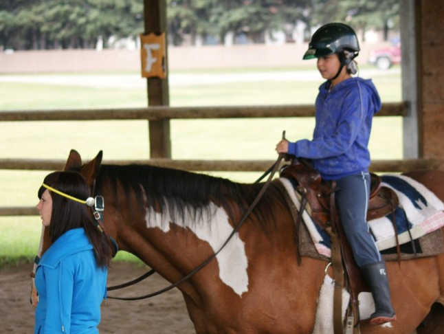 HORSEMANSHIP - Enjoy the mix of activities with our certified Equestrian Director. This activity gives an understanding of horse care, saddling, trail rides, and rodeo-style challenges, and races in the ring. You will also get the opportunity to drive a horse and cart with our miniature horse-and-cart program!